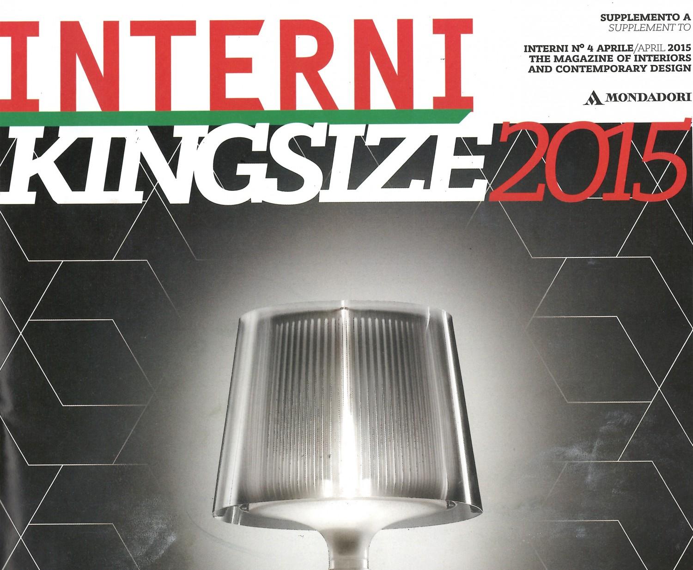Interni king size copertina